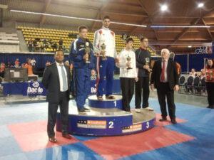 Tweede Plaats voor Michiel Hogenboom op Open Nederlands Kampioenschappen Taekwondo,