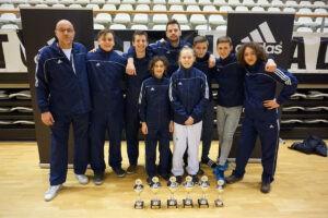 Top prestatie Taekwondoka's Marcel van der Poel op NK Taekwondo