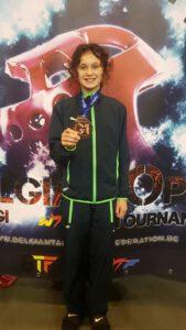 Brons voor Nilla op Open Belgische taekwondo Kampioenschappen
