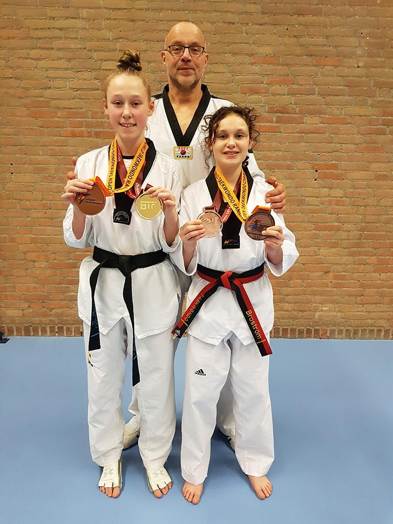 Goud en brons op Dutch Open en Open Belgie